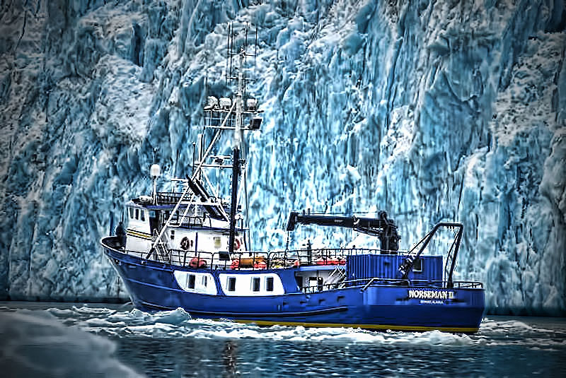 Bering Sea years (upcoming book covering my 34 years in the Bering Sea)
